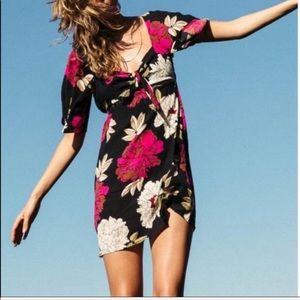 BILLABONG Floral Mini Dress